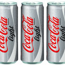 Coca Cola light lattina 0,33